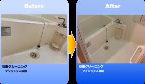 浴室クリーニング、清掃